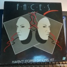 "Discos de vinilo: RAR MAXI 12"". FACES. HEAVEN'T STOPPED DANCING YET. ITALO. MADE IN SPAIN. Lote 222856448"