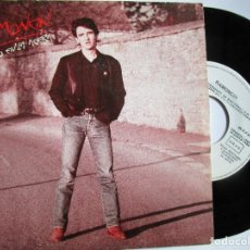 Discos de vinilo: RAMOCIN BAILANDO EN LA ACERA SINGLE PROMOCIONAL. Lote 222856880