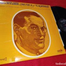 Discos de vinilo: THE GLENN MILLER STORY BSO DE LA PELICULA MUSICA Y LAGRIMAS LP 1970 CORAL ESPAÑA SPAIN. Lote 222857972