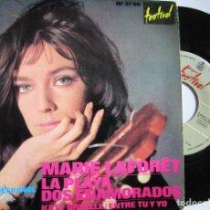 Discos de vinilo: MARIE LAFORET CANTA EN ESPAÑOL LA PLAYA. Lote 222858482