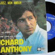 Discos de vinilo: RICHARD ANTHONY ARANJUEZ, MON AMOUR. Lote 222858642