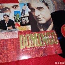 Discos de vinilo: PLACIDO DOMINGO DE MI ALMA LATINA FROM MY LATIN SOUL LP 1994 EMI UK RARO EN VINILO. Lote 222860852