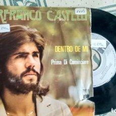 Discos de vinilo: SINGLE (VINILO) DE PIERFRANCO CASTELLI AÑOS 70. Lote 222865976