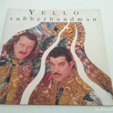 Discos de vinilo: YELLO - RUBBERBANDMAN. Lote 222876143