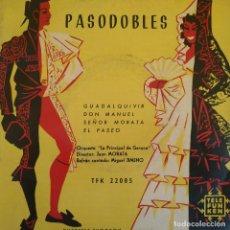 Discos de vinilo: ORQUESTA ''LA PRINCIPAL DE GERONA'' - PASODOBLES - RARISIMO Y UNICO EP TELEFUNKEN DEL AÑO 1958. Lote 222877080
