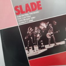 Discos de vinilo: SLADE- CUM ON FEEL THE NOIZE - UK MAXI SINGLE 1982- EXC. ESTADO.. Lote 222877327