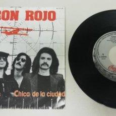 "Discos de vinilo: 1020- BARON ROJO CON BOTAS SUCIAS - VIN 7"" POR G+ DIS VG PROMO. Lote 222878378"