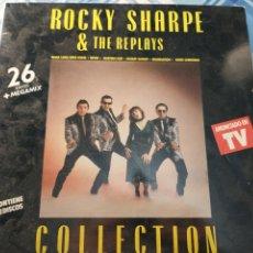 Discos de vinilo: ROCKY SHARPE DOBLE LP. Lote 222881761
