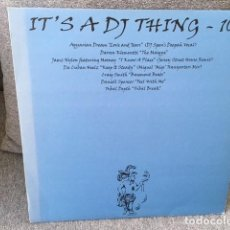 Discos de vinilo: IT´S A DJ THING 10 .2 MAXI´S . AQUARIAN DREAM . EDICIÓN INGLESA DEL 2000. Lote 222886683