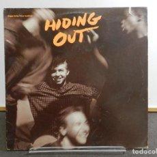 Discos de vinilo: VINILO LP. SOUNDTRACK. VARIOS - HIDING OUT. EDICIÓN AMERICANA USA.. Lote 222889116