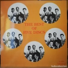 Discos de vinilo: DOO WOP LP, THE BEST OF THE FIVE DISCS. E-1000. Lote 222889130