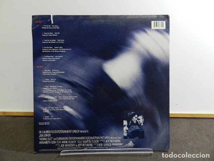 Discos de vinilo: VINILO LP. SOUNDTRACK. VARIOS - HIDING OUT. EDICIÓN AMERICANA USA. - Foto 2 - 222889142
