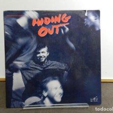Discos de vinilo: VINILO LP. SOUNDTRACK. VARIOS - HIDING OUT. EDICIÓN AMERICANA USA.. Lote 222889142
