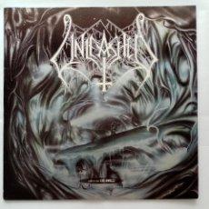Discos de vinilo: LP UNLEASHED - WHERE NO LIFE DWELLS 1991. Lote 232463022