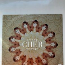 Discos de vinilo: LP CHER STRONG ENOUGH 1999. Lote 222890642