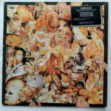 Discos de vinilo: LP CARCASS - REEK OF PUTREFACTION 1988. Lote 232463195