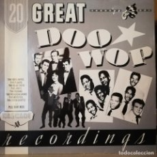 Discos de vinilo: DOO WOP LP, 20 GREAT DOO WOP RECORDINGS! CASCADE. Lote 222891520