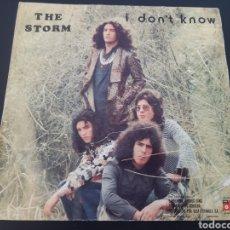 Discos de vinilo: DIFICIL!! THE STORM. I DON'T KNOW. 1974. SPAIN. L2. Lote 222895173