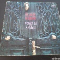 Discos de vinilo: DIFICIL! BLACK WINDOW. VENGA AL SABBAT. 1970. SPAIN. L2. Lote 222895577