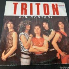 Discos de vinilo: TRITON. SIN CONTROL. SANGRE Y SUDOR. DISCO PROMOCIONAL. PROHIBIDA LA VENTA. 1985. SPAIN. L2. Lote 222895983