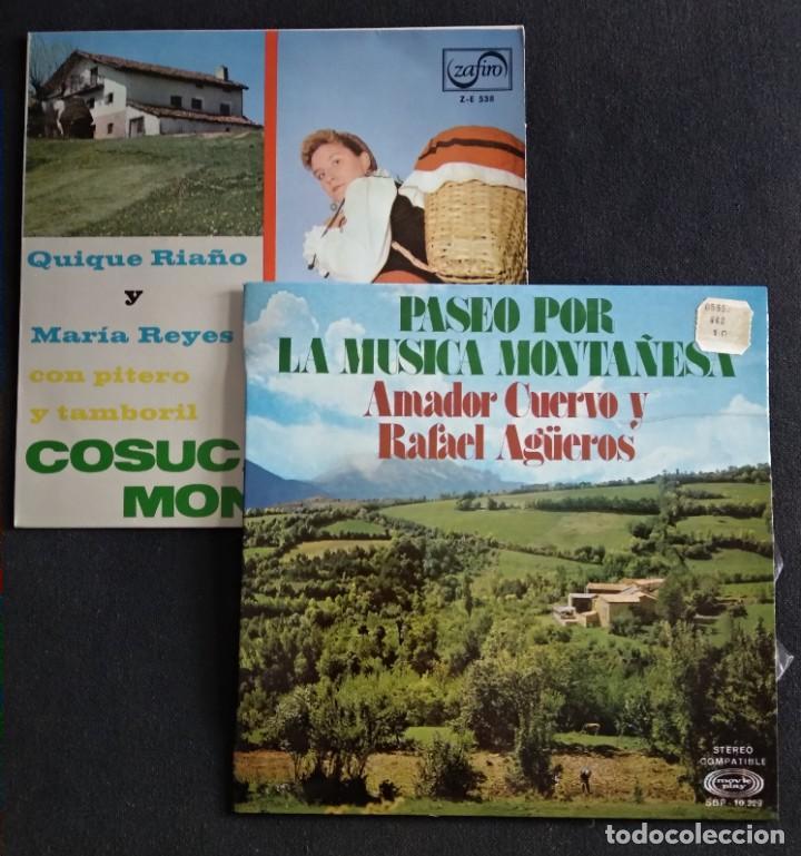 LOTE VINILOS (SIN USAR) FOLKORE REGIONAL MUSICA MONTAÑESA / COSUCAS DE LA MONTAÑA (Música - Discos - Singles Vinilo - Étnicas y Músicas del Mundo)