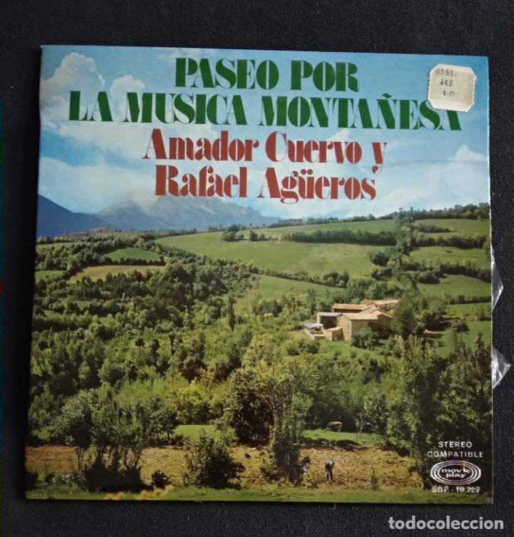 Discos de vinilo: Lote Vinilos (sin usar) folkore regional MUSICA MONTAÑESA / COSUCAS DE LA MONTAÑA - Foto 3 - 222896297