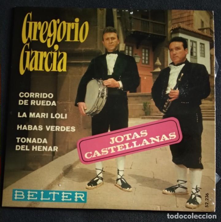 Discos de vinilo: Lote Vinilos (sin usar) folkore regiional JOTAS CASTELLANAS GREGORIO GARCIA / CASA DE LEON DE MADRID - Foto 3 - 222896693