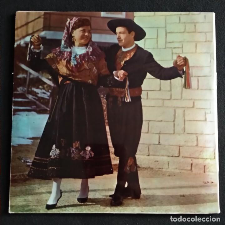 Discos de vinilo: Lote Vinilos (sin usar) folkore regiional JOTAS CASTELLANAS GREGORIO GARCIA / CASA DE LEON DE MADRID - Foto 6 - 222896693