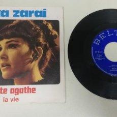 "Discos de vinil: 1020- RIKA ZARAI TANTE AGATHE - VIN 7"" POR G+ DIS G+. Lote 222902590"