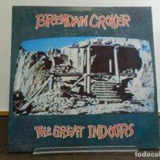 Discos de vinilo: VINILO LP. BRENDAN CROKER - THE GREAT INDOORS. EDICIÓN ALEMANA.. Lote 222902625