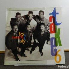Discos de vinilo: VINILO LP. TAKE 6 - SO MUCH 2 SAY. EDICIÓN ALEMANA.. Lote 222903092