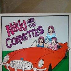 Discos de vinilo: NIKKI AND THE CORVETTES 1980 BOMP! RECORDS. Lote 222903938