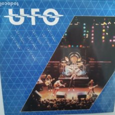 Discos de vinilo: U.F.O.- LET IT RAIN- UK MAXI SINGLE 1982- VINILO CASI NUEVO.. Lote 222905052