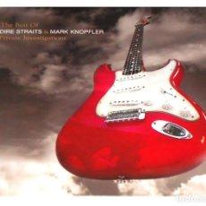 Discos de vinilo: V1223 - DIRE STRAITS & MARK KNOPFLER. THE BEST OF. DOBLE LP VINILO. Lote 222905100