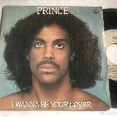 Discos de vinilo: PRINCE - I WANNA BE YOUR LOVER - SINGLE WARNER 80 FUNK DISCO. Lote 222905263