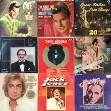 "Discos de vinilo: LOTE 18 DISCOS DE VINILO LP 12"" TOM JONES BOBBY VEE MONTE REY BARRY MANILOW ALBUM HITS. Lote 222906457"