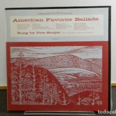 Discos de vinilo: VINILO LP. PETE SEEGER - AMERICAN FAVORITE BALLADS. EDICIÓN ESPAÑOLA.. Lote 222906952