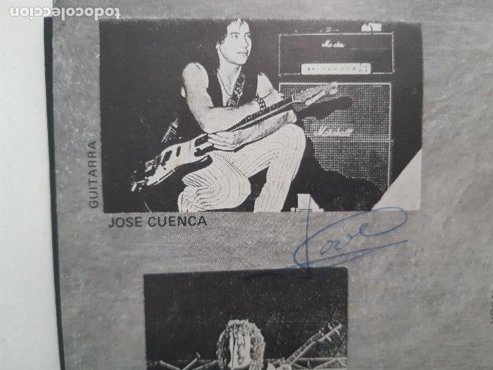 """Discos de vinilo: MAGIA NEGRA- SPAIN EP 12"""" 1986- FIRMADO POR TODA LA BANDA- VINILO EXC. ESTADO. - Foto 4 - 222909602"""