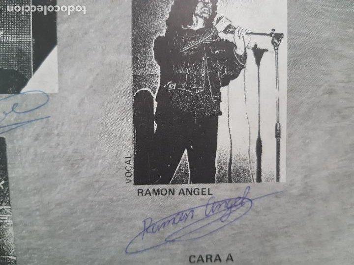 """Discos de vinilo: MAGIA NEGRA- SPAIN EP 12"""" 1986- FIRMADO POR TODA LA BANDA- VINILO EXC. ESTADO. - Foto 5 - 222909602"""