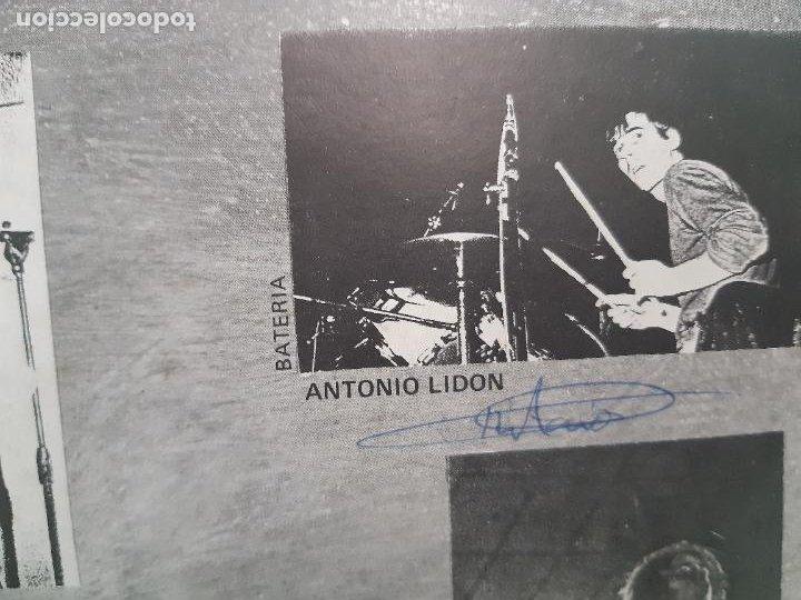 """Discos de vinilo: MAGIA NEGRA- SPAIN EP 12"""" 1986- FIRMADO POR TODA LA BANDA- VINILO EXC. ESTADO. - Foto 6 - 222909602"""