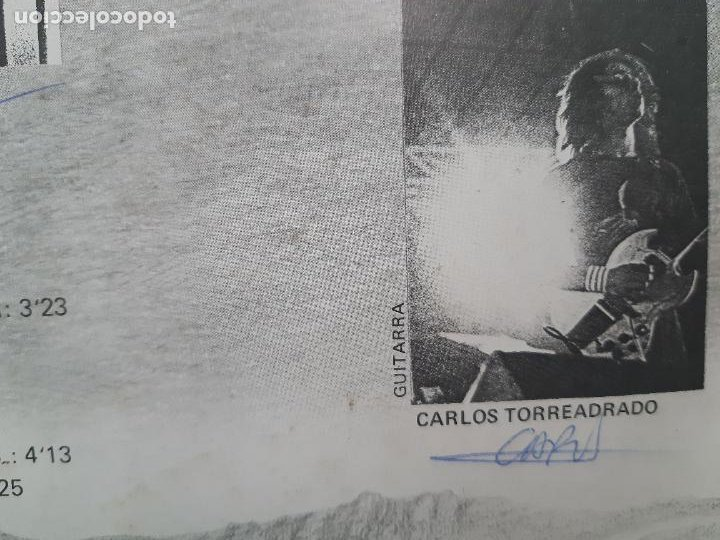 """Discos de vinilo: MAGIA NEGRA- SPAIN EP 12"""" 1986- FIRMADO POR TODA LA BANDA- VINILO EXC. ESTADO. - Foto 7 - 222909602"""