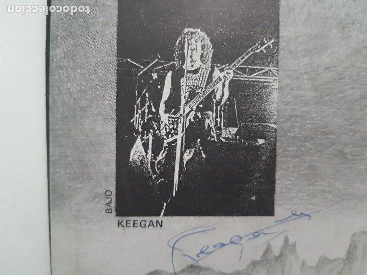"""Discos de vinilo: MAGIA NEGRA- SPAIN EP 12"""" 1986- FIRMADO POR TODA LA BANDA- VINILO EXC. ESTADO. - Foto 8 - 222909602"""