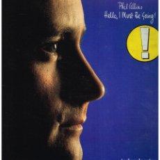 Discos de vinilo: PHIL COLLINS - HELLO, I MUST BE GOING - LP 1982 - PORTADA DOBLE. Lote 222910705