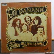 Discos de vinilo: VINILO LP. DE DANANN - SELECTED JIGS REELS & SONGS. EDICIÓN ESPAÑOLA.. Lote 222911110