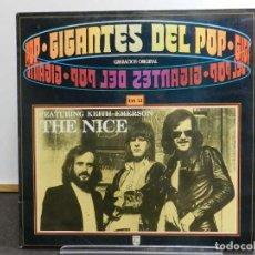 Discos de vinilo: VINILO LP. THE NICE - GIGANTES DEL POP VOL. 52. EDICIÓN ESPAÑOLA.. Lote 222912065