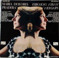 Discos de vinilo: MARIA DOLORES PRADERA. EXITOS. LP ORIGINAL 1967 ESPAÑA. CON PORTADA ABIERTA CON LIBRETO. Lote 222912397