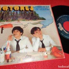 Discos de vinilo: BOTONES QUE PENA DE VERANO/LA PANDA 7'' SINGLE 1982 EPIC EDDY GUERIN RARO!. Lote 222920661