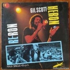 "Discos de vinilo: GIL SCOTT-HERON - RE-RON (12"") (ARISTA) F-601.557 (1984/ES). Lote 222921493"