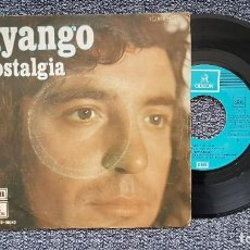 Disques de vinyle: DYANGO - NOSTALGIA / LO SE POR MI. EDITADO POR EMI. AÑO 1.974. Lote 222923415