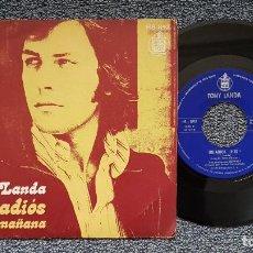 Discos de vinilo: TONY LANDA - UNA SENCILLA CANCIÓN DE AMOR / NOSTALGIA DE TI. EDITADO POR HISPAVOX. AÑO 1.972. Lote 222924701